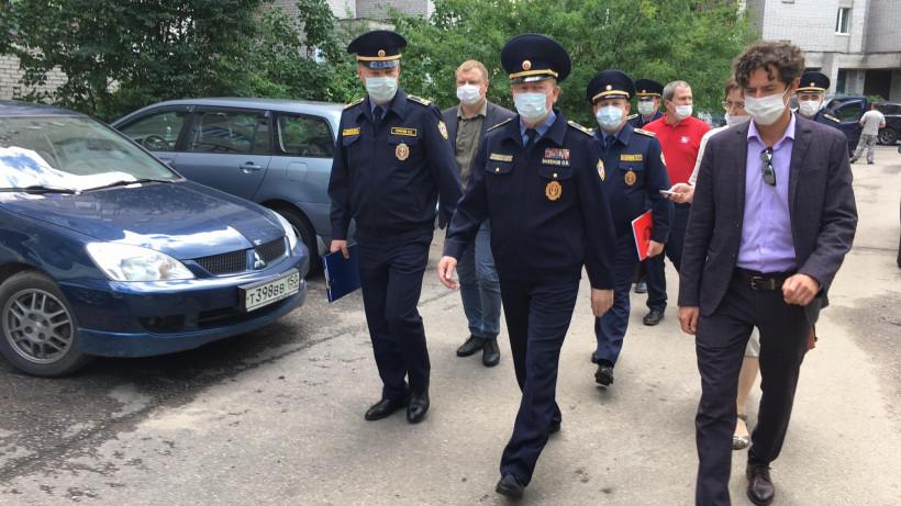Начальник Госадмтехнадзора Подмосковья проинспектировал городской округ Черноголовка