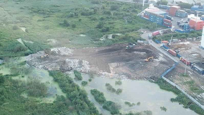 Незаконное размещение отходов пресекли в Богородском округе