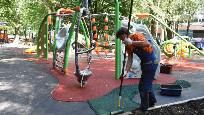 Новая детская площадка появится в Лобне
