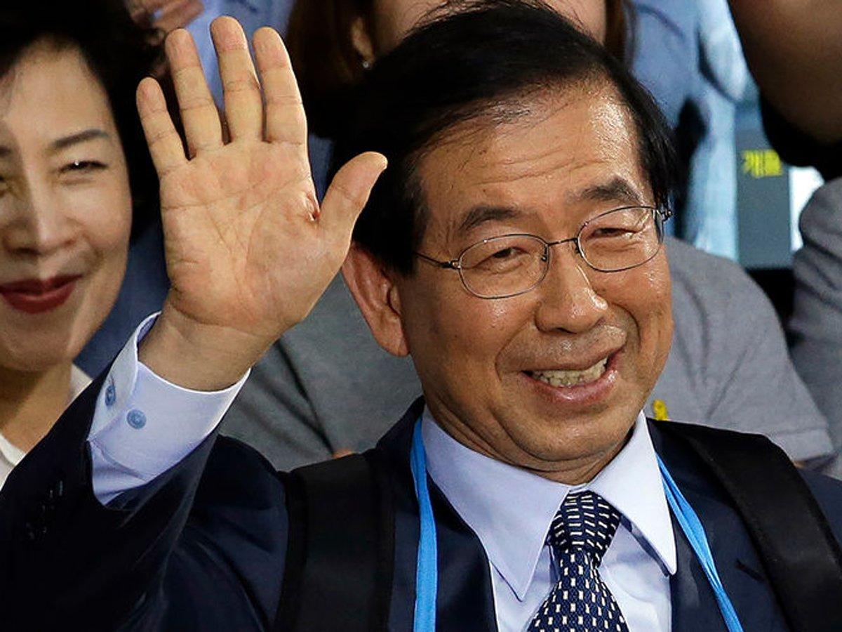 Обнаружен мертвым мэр Сеула Пак Вон Сун: он оставил записку-завещание