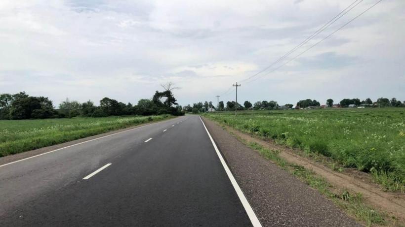 Одиннадцать участков региональных дорог отремонтировали в Волоколамске