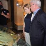 Ольга Любимова одной из первых посетила Государственный исторический музей после возобновления его работы