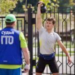 Олимпийская чемпионка Светлана Нагейкина вручила знаки ГТО в Волоколамске