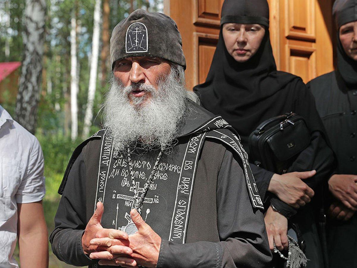Опального схиигумена Сергия лишили церковного сана