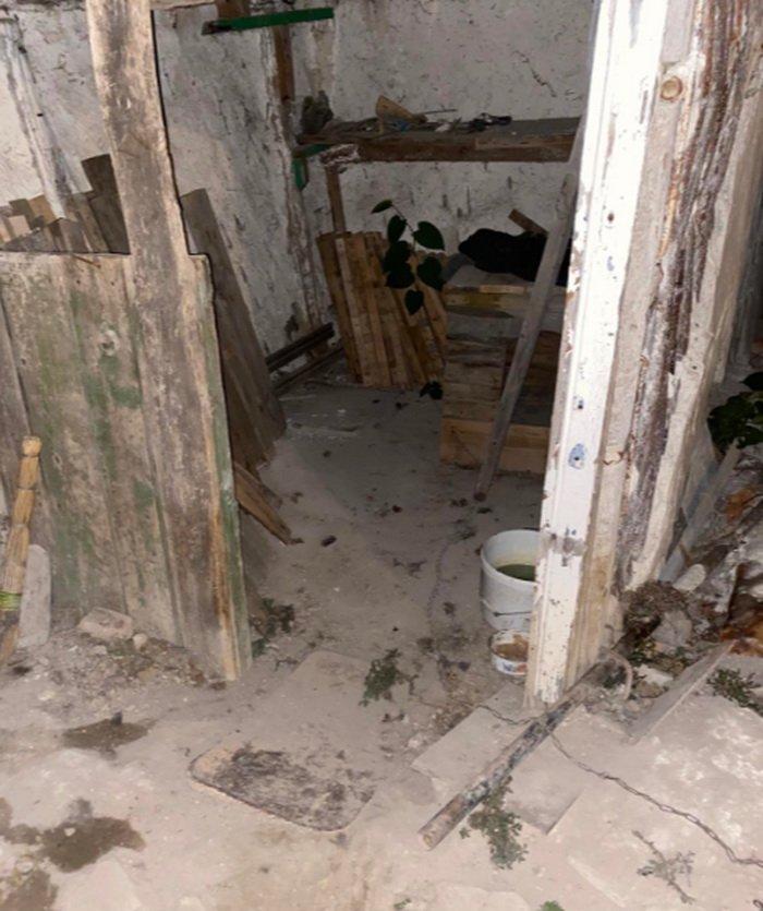 Под Белгородом жена замуровала мужа в бетон