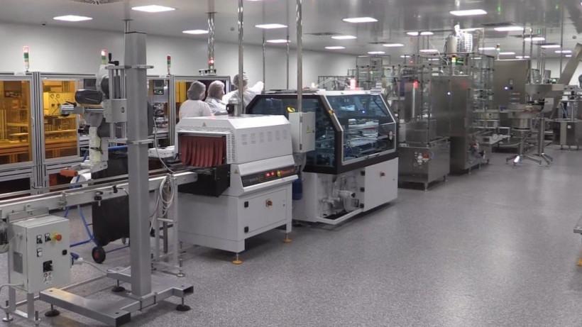 Подмосковная компания запустила новую производственную линию по выпуску вакуумных пробирок