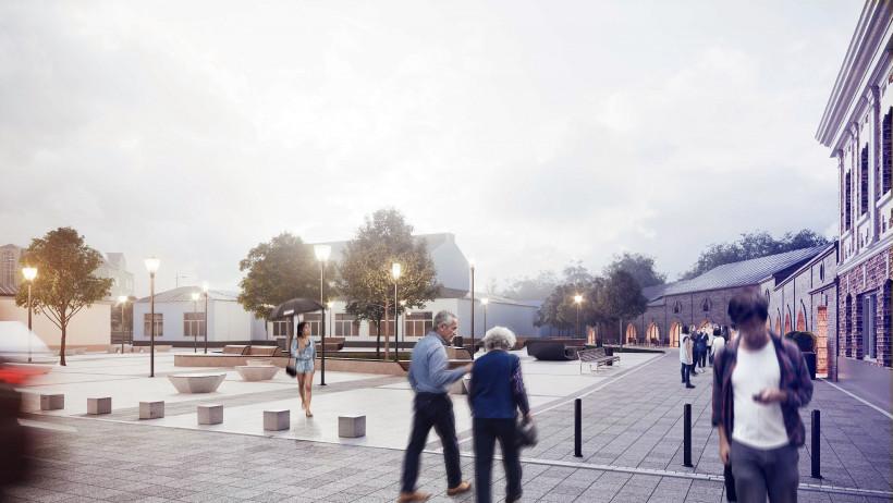Работы по благоустройству улицы Советской в Кашире частично перенесли на 2021 год