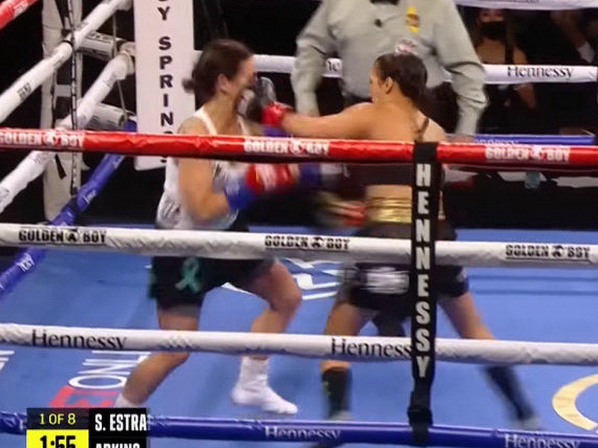 Самый быстрый нокаут в женском боксе