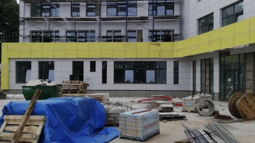 Школу в поселке Малаховка Люберец введут в эксплуатацию в августе