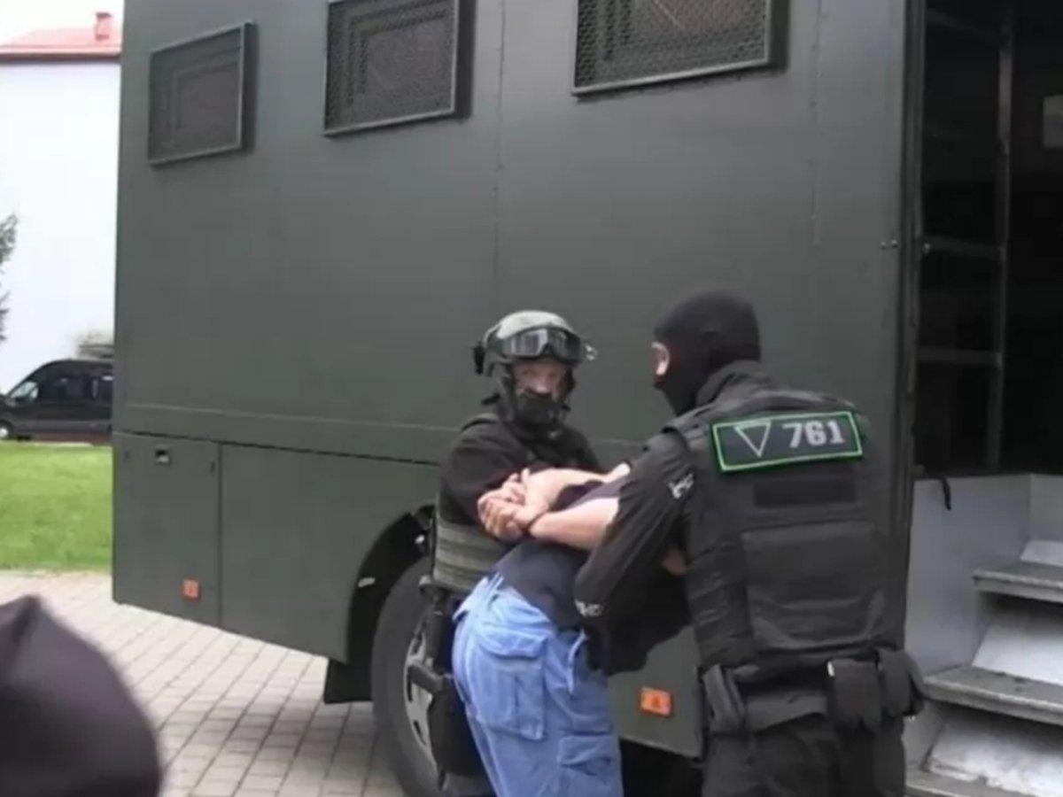 Задержание боевиков ЧВК Белоруссия