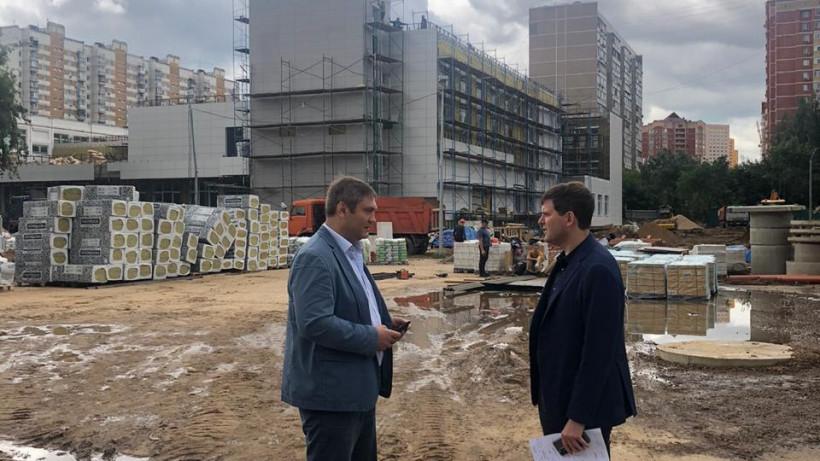 Совещание по завершению строительства нового корпуса Кадетской школы состоялось в Люберцах