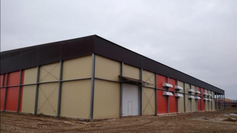 Строительство комплекса по хранению и сортировке картофеля завершается в Шатуре