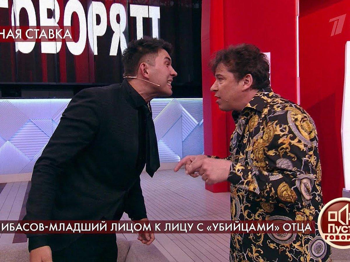 СынБари Алибасова устроил драку вэфире «Пусть говорят»