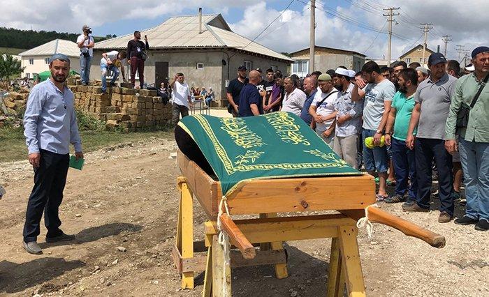 Похороны Мусы Сулейманова