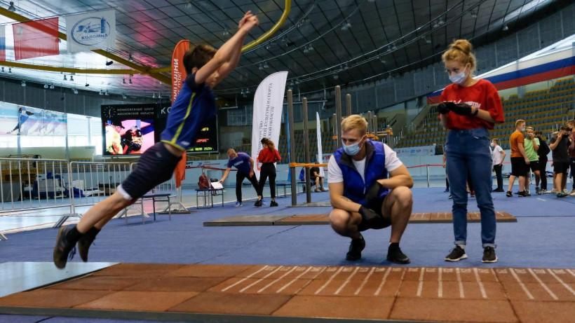 Тестирование ГТОпровели в конькобежном центре в Коломне