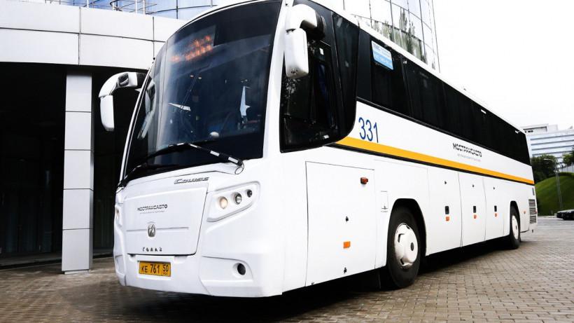 Увеличилось число автобусов, следующих от станции Голицино до парка Патриот по выходным