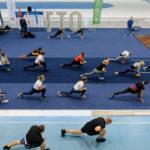 В одном из крупнейших конькобежных центрах страны провели тестирование ГТО