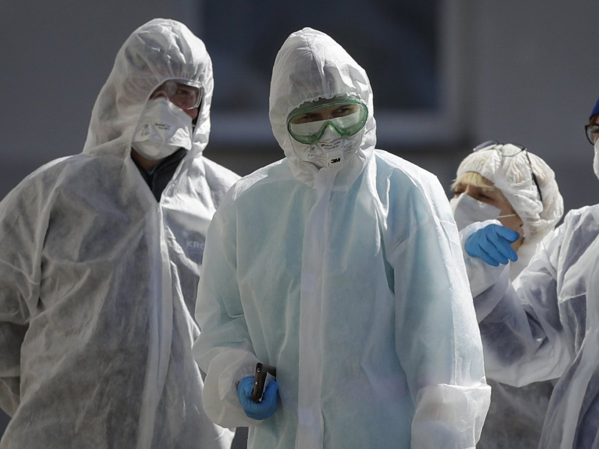 В России коронавирусом заболели 6615 человек за сутки