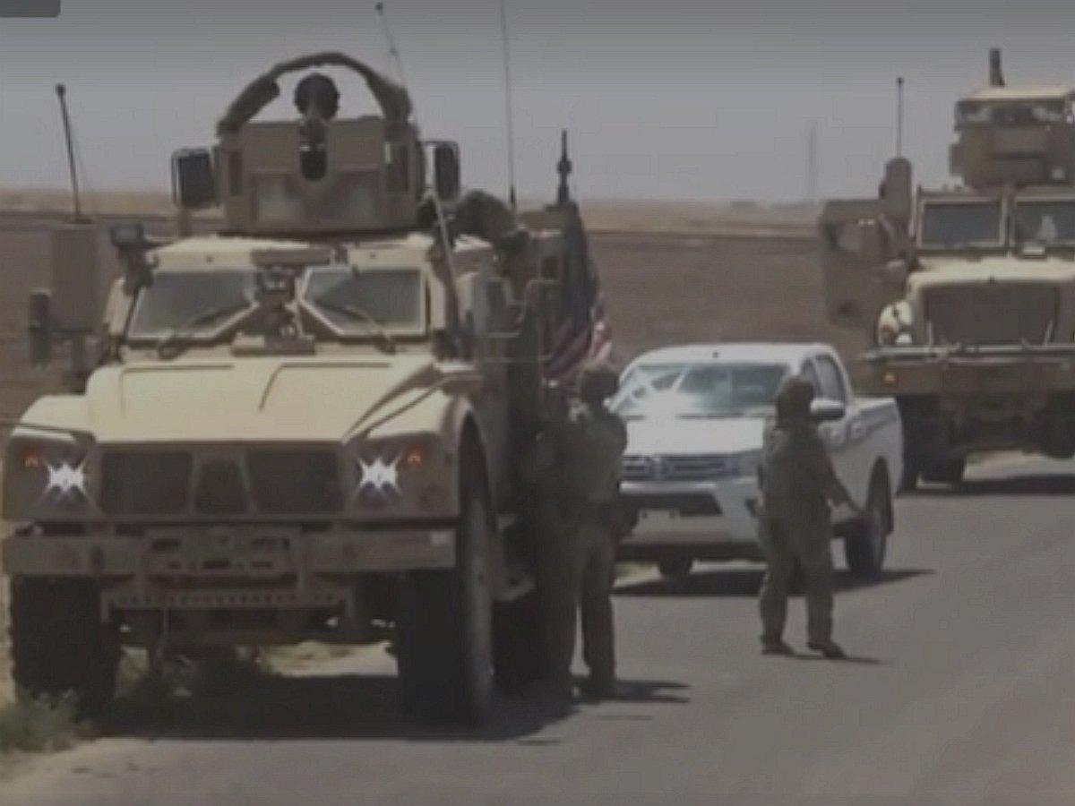 В Сирии произошла стычка между военными США и РФ: опубликовано видео