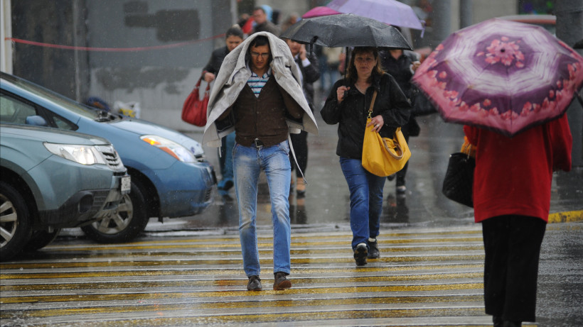Водителей Подмосковья призвали быть внимательнее на дорогах из-за грозы и сильного ветра