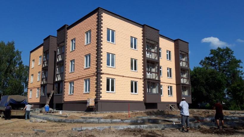 Жители трех аварийных домов в Егорьевске переедут в новостройку до конца года