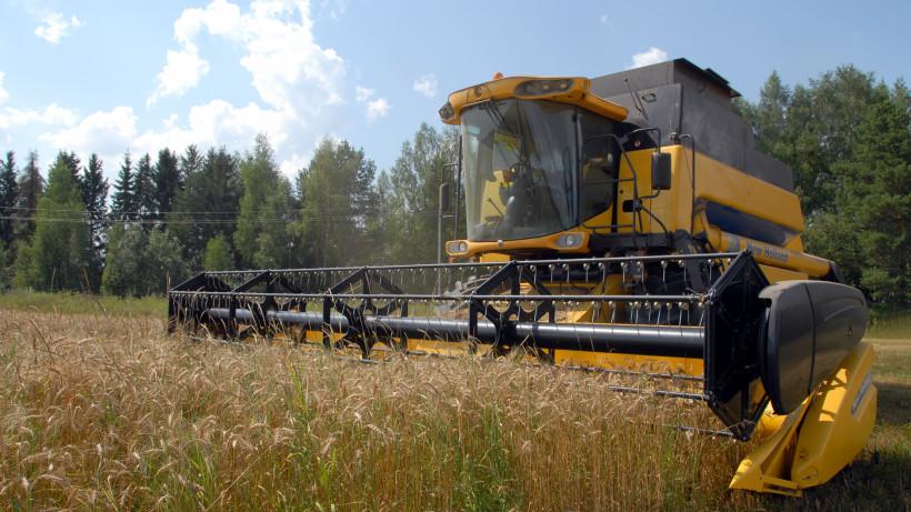 Аграрии Подмосковья собрали более 50% зерновых культур