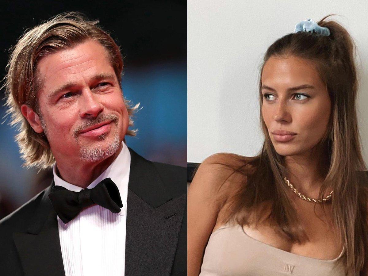 Брэд Питт закрутил роман с 27-летней моделью, похожей на Джоли и Шейк