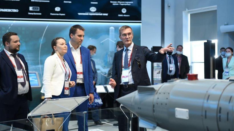 Члены правительства Московской области посетили форум «Армия-2020»