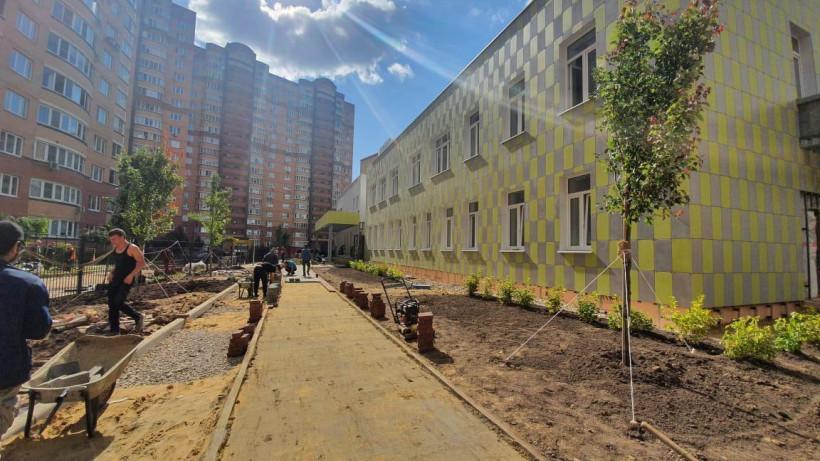 Детский сад на 125 мест в микрорайоне Подрезково Химок построят до конца августа