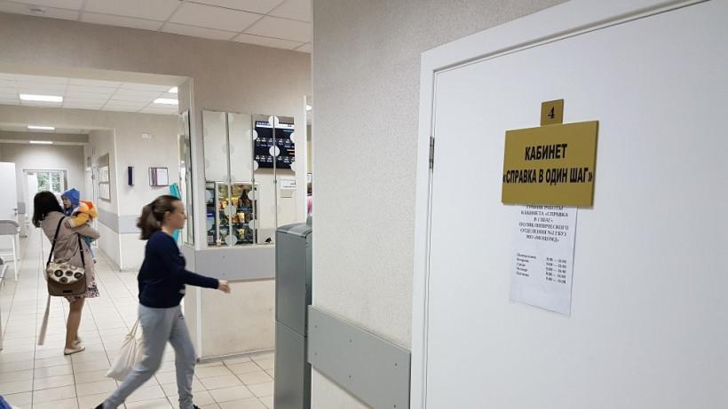 Дополнительные кабинеты для получения справок откроют в детских поликлиниках региона