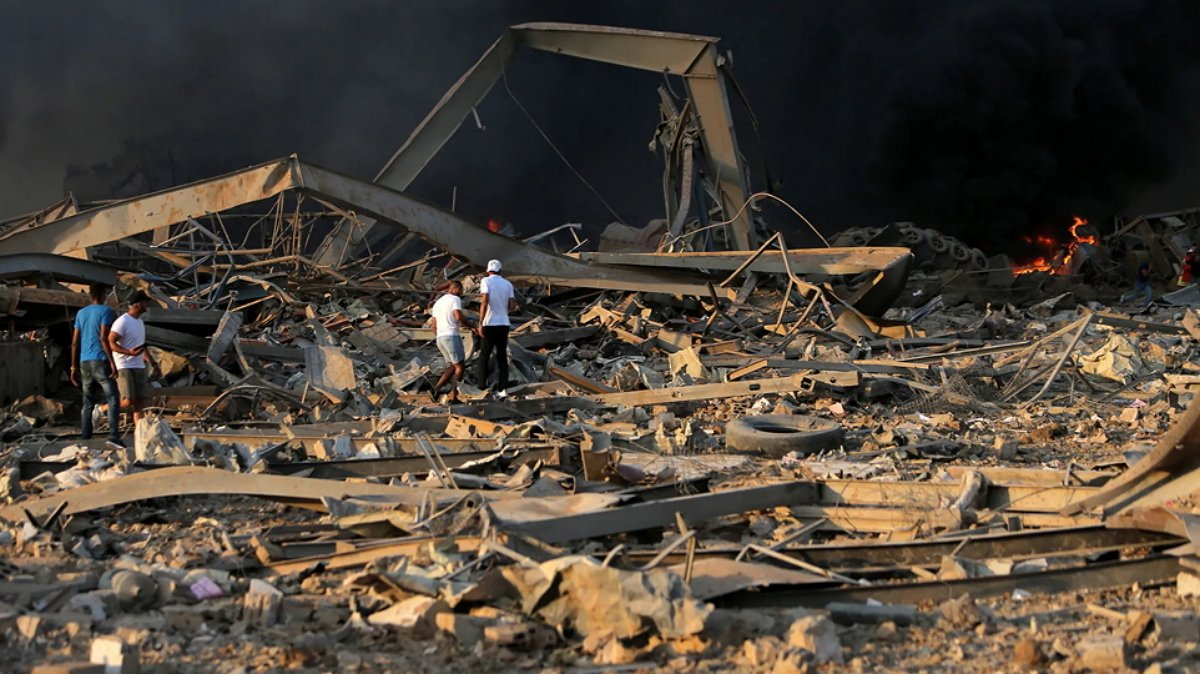 взрыв в Бейруте: последствия