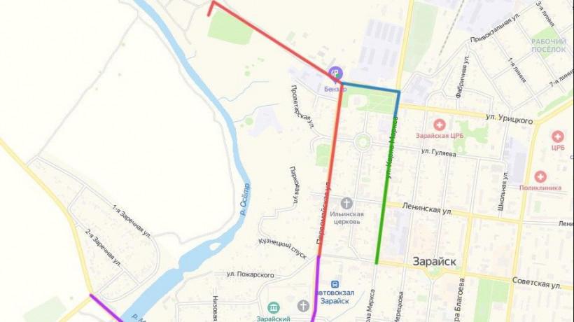Движение транспорта ограничат на 4 дорогах в Зарайске 22 августа