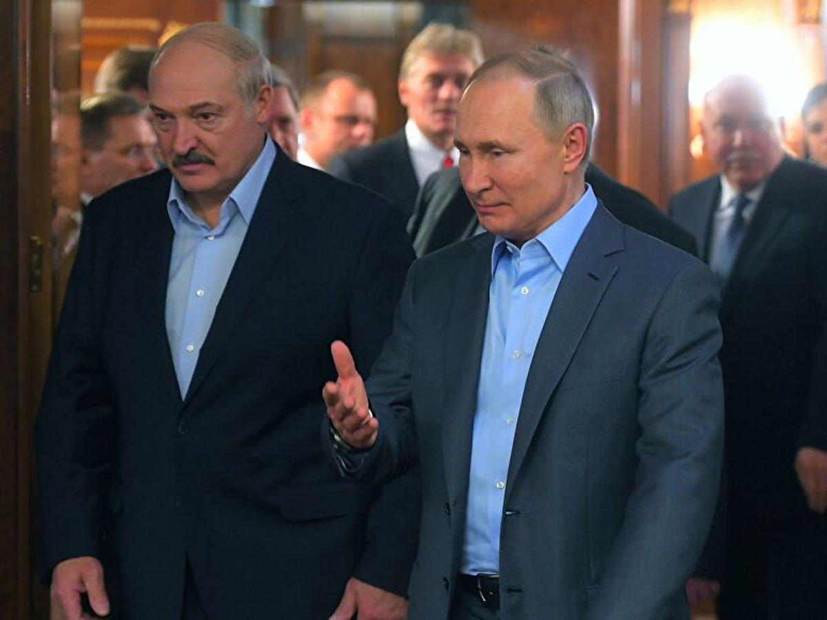 Лукашенко заявил одоговоре сПутиным наслучай