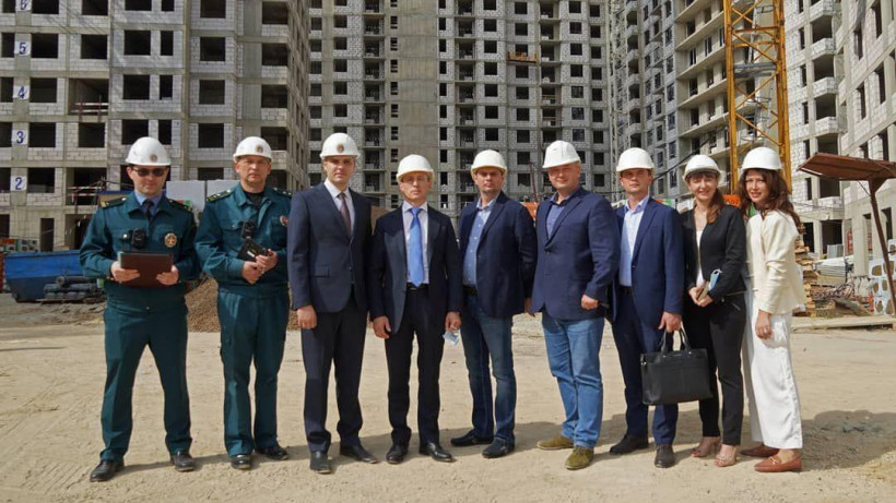 Главгосстройнадзор Подмосковья поделился достижениями с делегацией из Петербурга