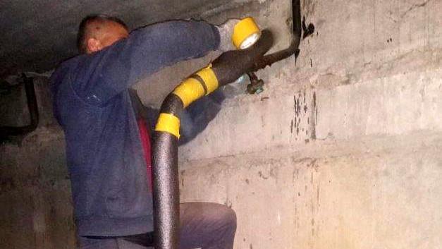 Госжилинспекция обязала УК привести в порядок подвал многоквартирного дома в Воскресенске