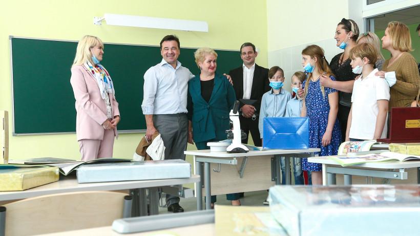 Губернатор посетил Серпухов с рабочим визитом