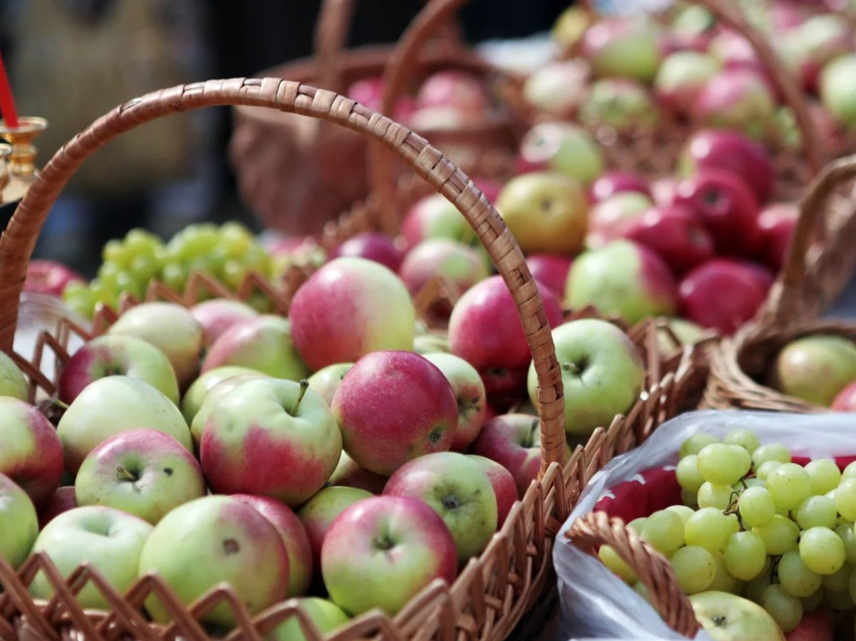 Яблочный Спас 19 августа