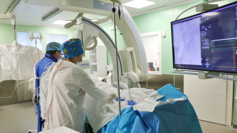 Красногорские врачи спасли 28-летнюю пациентку с инсультом