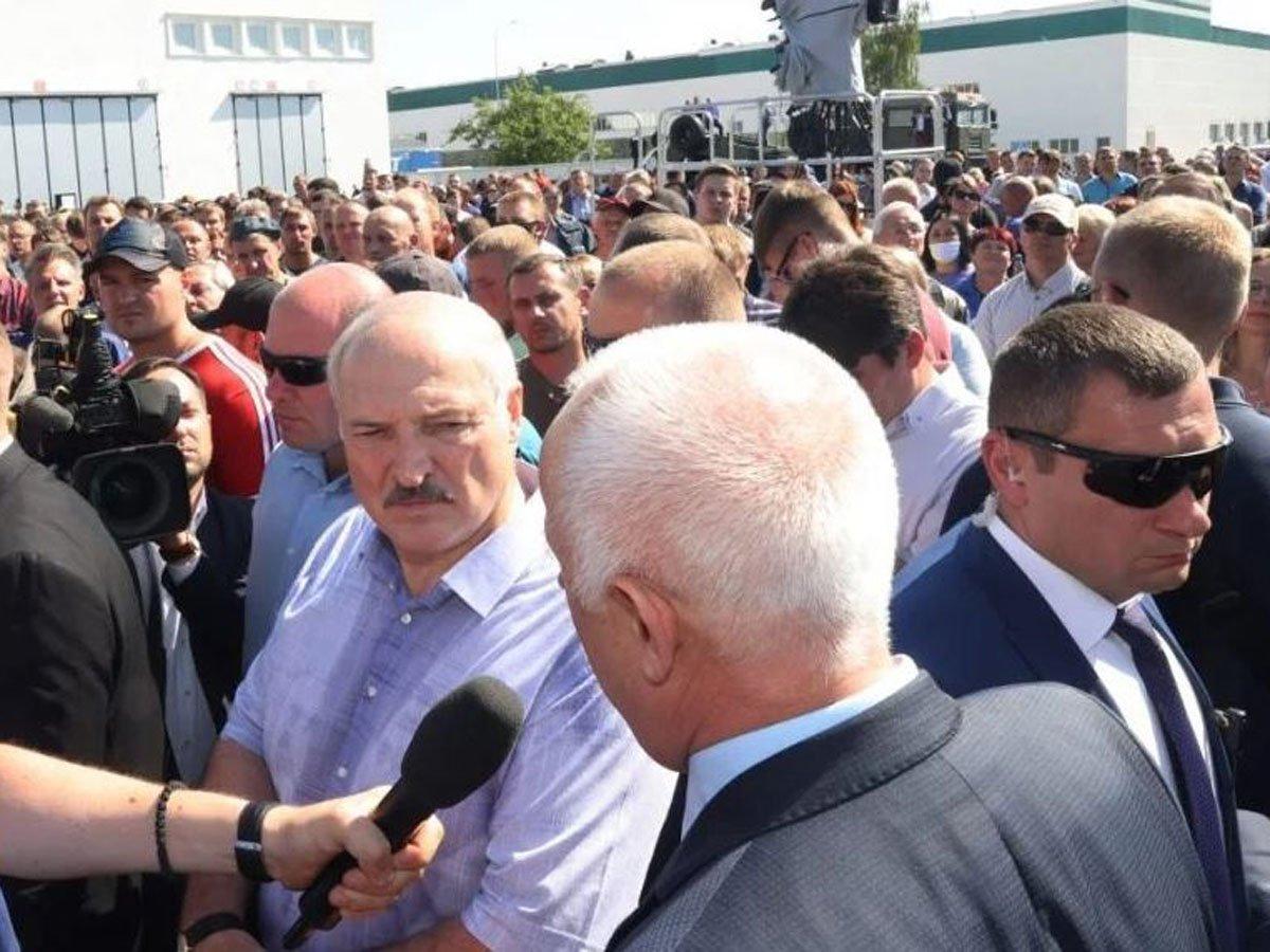 Лукашенко: протесты грозят превратить Белоруссию в «санитарный кордон» против России