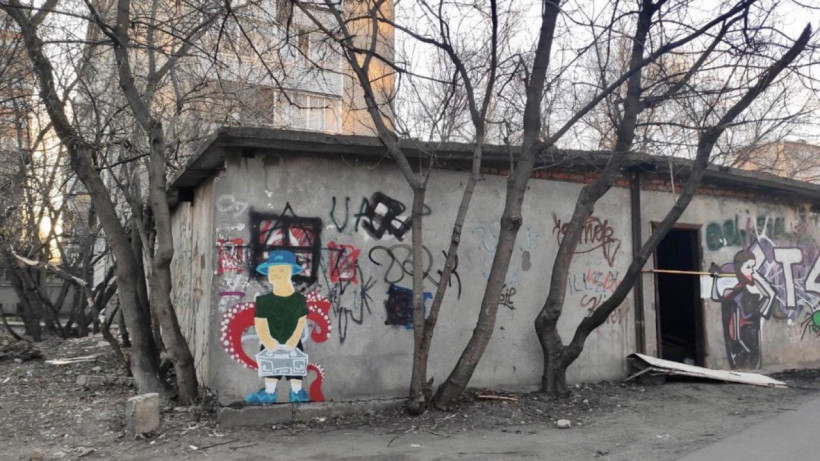 снесенное здание в Жуковском