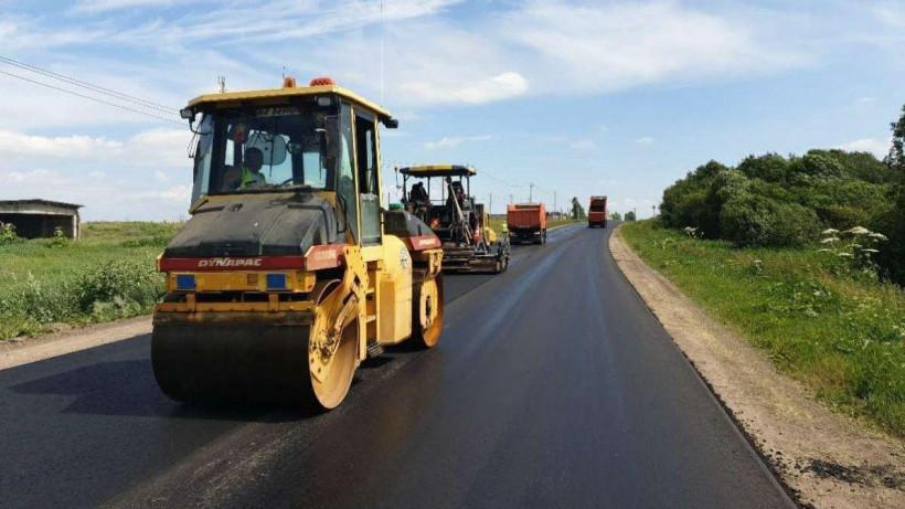 Новое покрытие уложили на 29 дорогах Московской области с начала августа