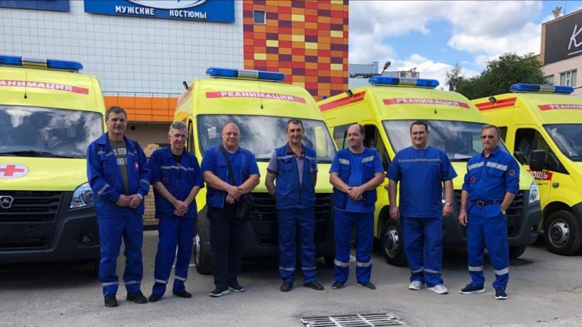 Новые реанимобили поступили на Московскую областную станцию скорой помощи