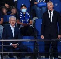 Олег Матыцин принял участие в открытии XIII Кубка мэра Москвы по хоккею