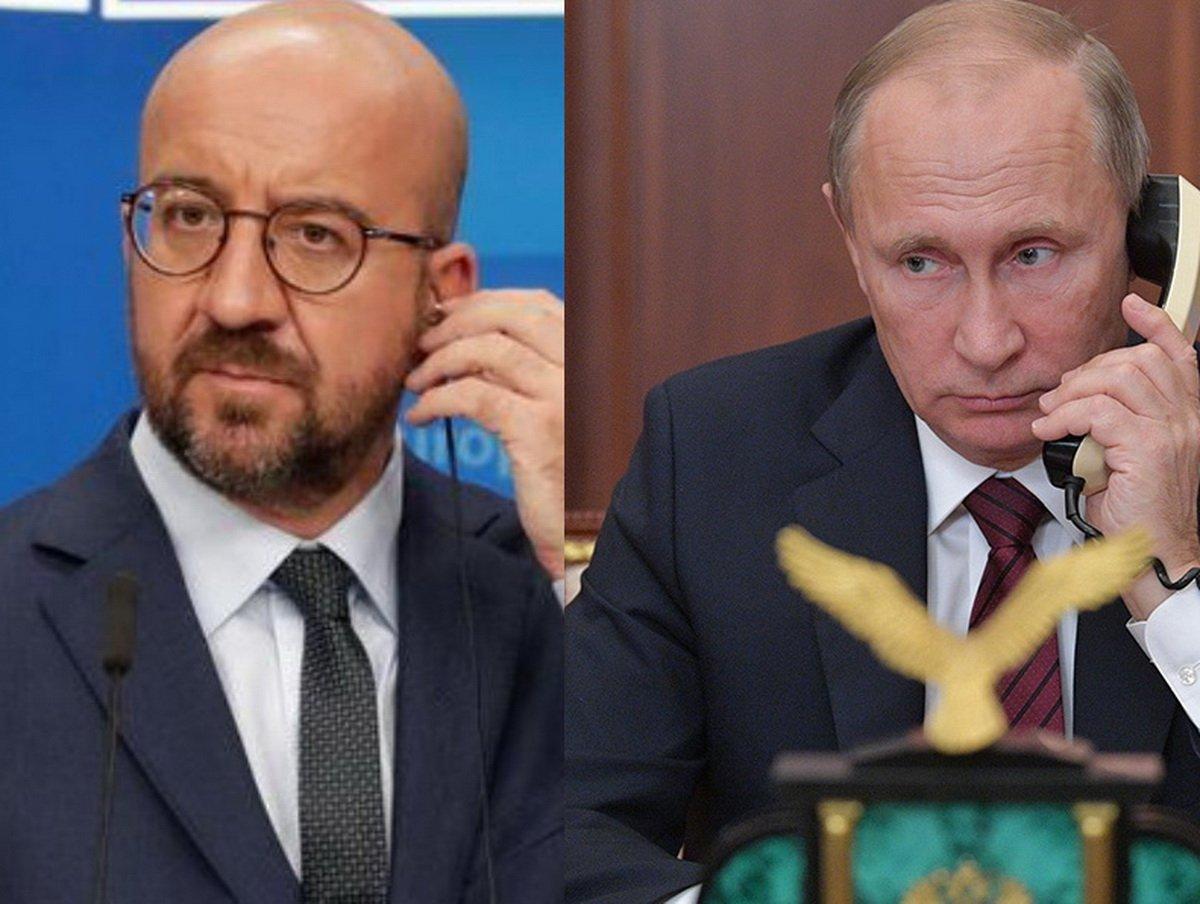 """""""Он заболел"""": стало известно о разговоре главы ЕС с Путиным о Навальном"""