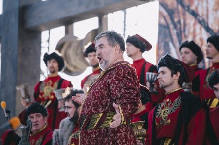Опера «Борис Годунов» под управлением дирижёра Фабио Мастранджело на «Культура.РФ»