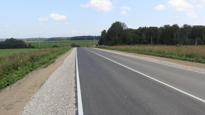 Подъездные дороги к Гремячему ключу отремонтировали в Сергиево-Посадскому округе