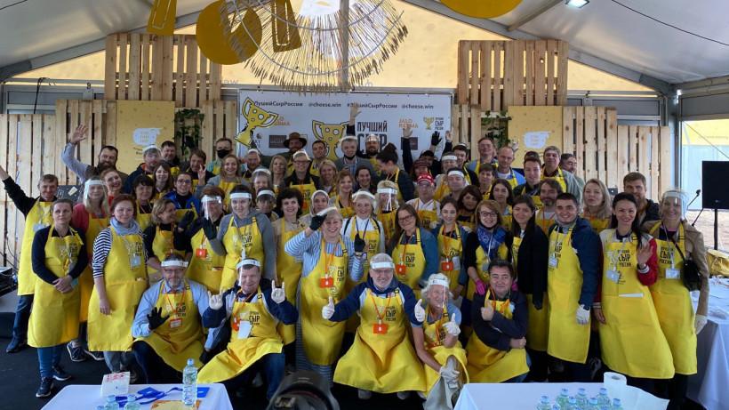 Подмосковная сыроварня завоевала Гран-при конкурса «Лучший сыр России» среди свежих сортов