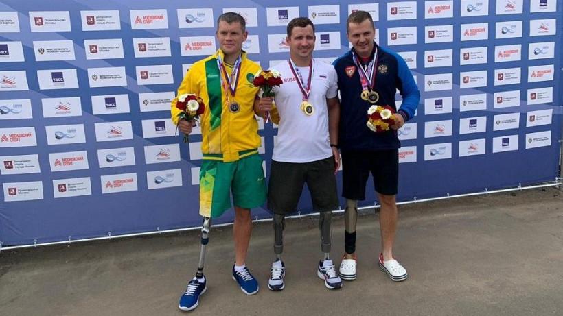 Подмосковные параспортсмены завоевали медали на чемпионате России по гребле
