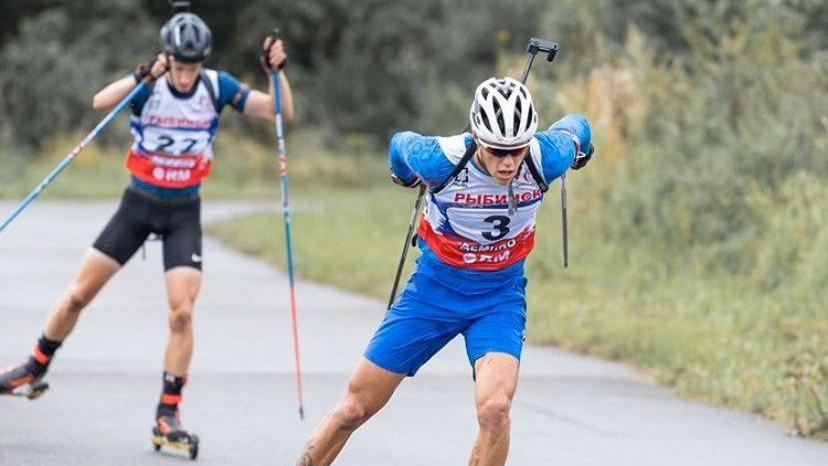 Подмосковный биатлонист завоевал золото летнего чемпионата России