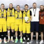Подмосковный клуб «Гагарин» стал чемпионом России по баскетболу 3х3